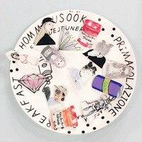 1 PCS Cool Girls Badge Kawaii Girl Shaped Icons Acrylic Pin Badges Backpack Icon Decoration Pins