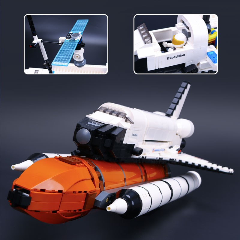 NEW-Lepin-16014-out-of-print-Shtttle-Expedition-Spaceship-10231-Buliding-Blocks-Bricks-Minifigures-Educational-Toys (2)