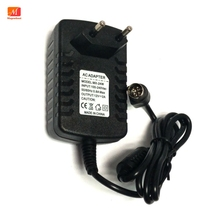 EU Power Adapter 12V 2A 4 PIN for Hikvision video recorder 7804 7808H SNH cwt KPC 024F DVR NVR power adapter charger