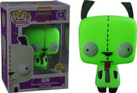 Exclusive Funko pop Glows in the dark Official Invader Zim Gir Vinyl Action Figure Collectible Model Toy with Original Box