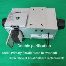 """"""" 6"""" Встроенный воздуховод вентилятор с Hepa фильтром система свежего воздуха вентилятор HVAC кондиционер вентилятор 100 мм 150 мм 220 В"""