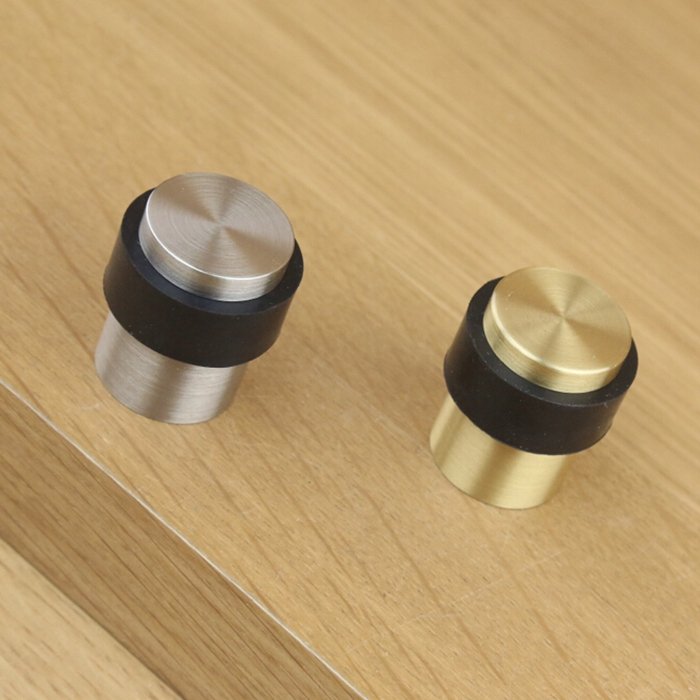 Italy Ke Resistant Copper Brushed Gold Glass Shower Door Stopper Rubber Bumper Gate Resistance Top In Closers From Home Improvement