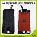 1 unids aaa calidad 4.7 pulgadas 6g pantalla lcd digitalizador asamblea para iphone 6; 6g Pantalla LCD Negro/Blanco OEM Envío gratis