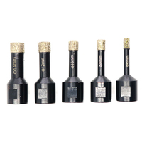 5Pcs/Set Diamond Grooved Bit Drill Bit Box Packed Professional Sone Electric Grinding Engraving Machine Woodworking Tools