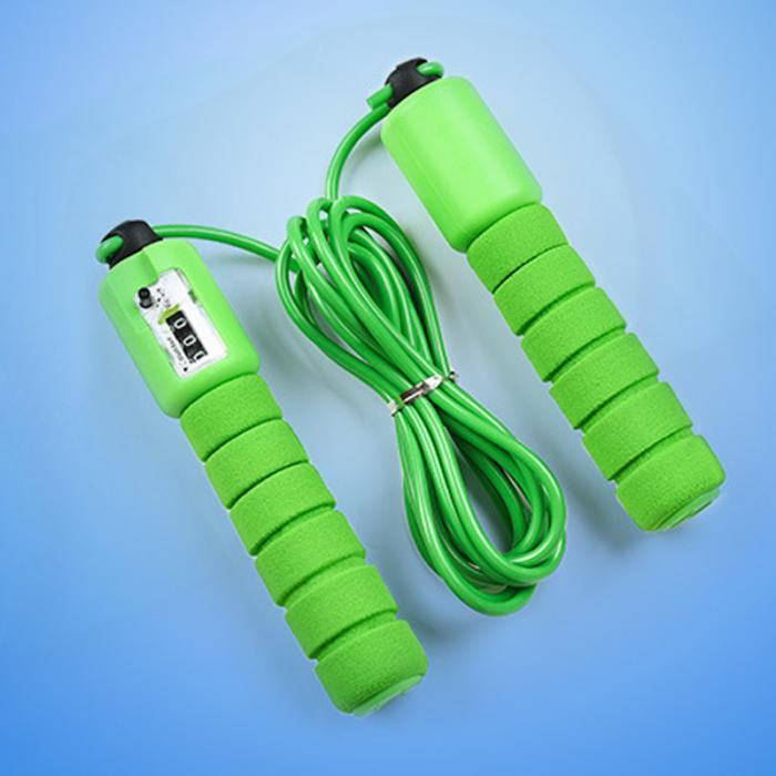 Jump Ropes with Counter, Adjustable,  Counting Jump Skip Rope Skipping Wire 15