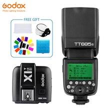 Godox TT685 TT685S Speedlite Flash Wireless TTL+X1T-S Transmitter Trigge for sony Camera  A7 A7S A7R II