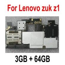 LTPro ในสต็อก 100% ทดสอบการทำงาน 3 กิกะไบต์ 64 กิกะไบต์เมนบอร์ดสำหรับ Lenovo ZUK Z1 บอร์ดเมนบอร์ดเมนบอร์ดเมนบอร์ดสมาร์ทโฟนเปลี่ยน