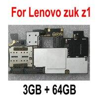 Ltpro 재고 있음 100% 레노버 zuk z1 마더 보드 메인 보드 스마트 폰 교체 용 3 gb 64 gb 메인 보드 테스트 휴대폰 서킷 전화기 & 통신 -