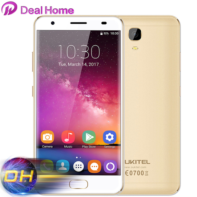 "2017 OUKITEL K6000 Plus 4G Mobile Phone MT6750T 4GB RAM 64GB ROM Octa Core 16MP 6080mAh 12V/2A Quick Charge 5.5"" FHD Cell Phone"