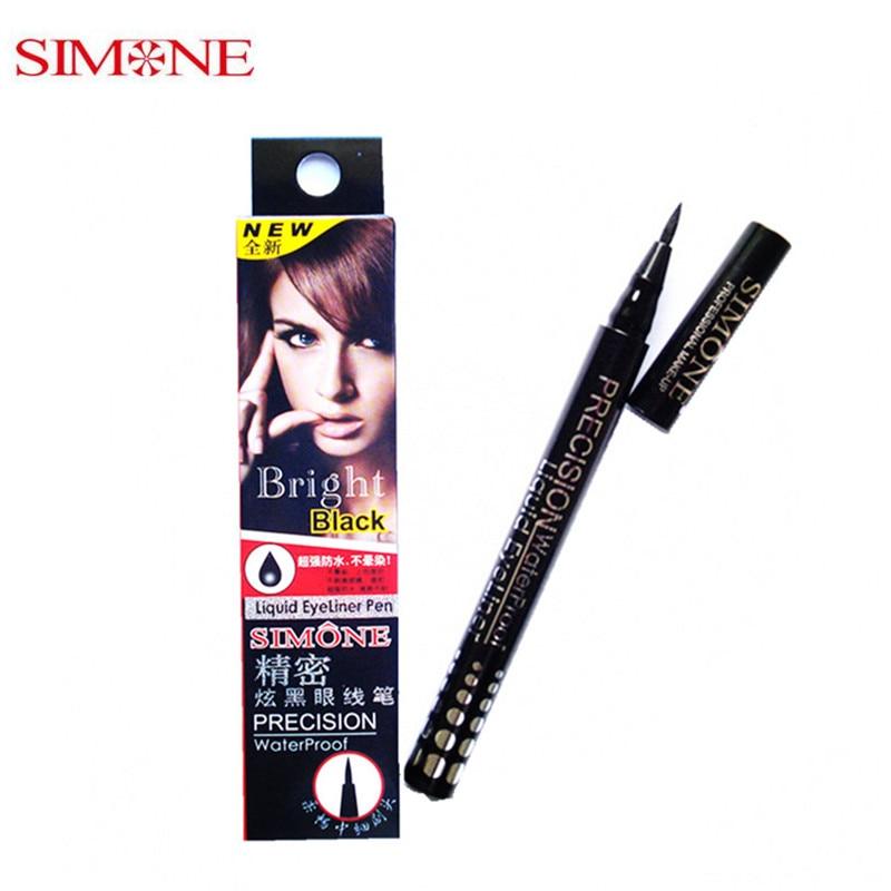 New High Quality 1PCS Simone Charm The Eye Cool Black Liquid Eyeliner Waterproof Eyeliner
