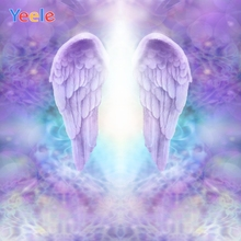 Yeele Wallpaper Bokeh Lights Wings Dream Room Decor Photography Backdrops Personalized Photographic Backgrounds For Photo Studio