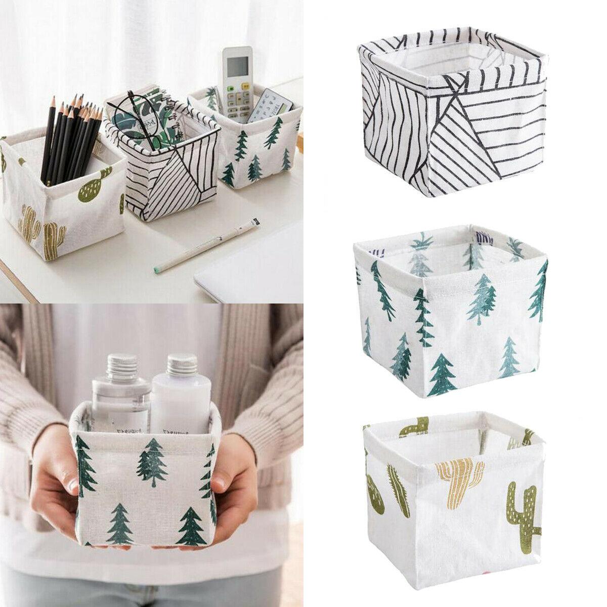 Hot Storage Bin Closet Toy Box Container Organizer Fabric Basket Linen Basket Storage Basket