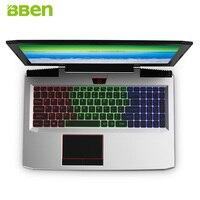 Bben G16 Windows10 Intel I7 7700HQ Kabylake 16G RAM 256G SSD 1T HDD NVIDIA GTX1060 GDDR5