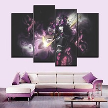 One Set Modular Picture 4 Piece Sniper Widowmaker Overwatch Painting Home Decor Wall Artwork Modern Canvas Print Game Poster