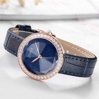Zivok женские часы с бриллиантами с Miyota механизм пояса из натуральной кожи ремешок женские кварцевые часы для женщин женские часы Relogio Feminino