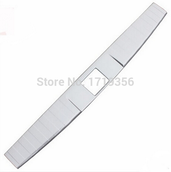 High quality Stainless Steel inner Rear Bumper Protector Sill Trunk Tread Plate Trim Fit For Subar-u Outback 2010-2015