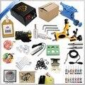 Frete grátis 1 Conjuntos Nova Novato Completo de Alta qualidade Tatuagem Rotativo Kits máquina + sets + fonte de alimentação + agulhas de tinta Quente vender
