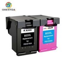 Совместимые чернильные картриджи для hp 803 XL для hp Deskjet 1112 2132 1111 2131 3632 3830 4652 принтер для hp 803 XL 803XL