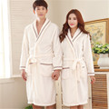 Robes Bath Robe Dressing Gown New Fashion For Men And Women In Autumn Winter Coral Nightgown Female Couple Thickened Bathrobe