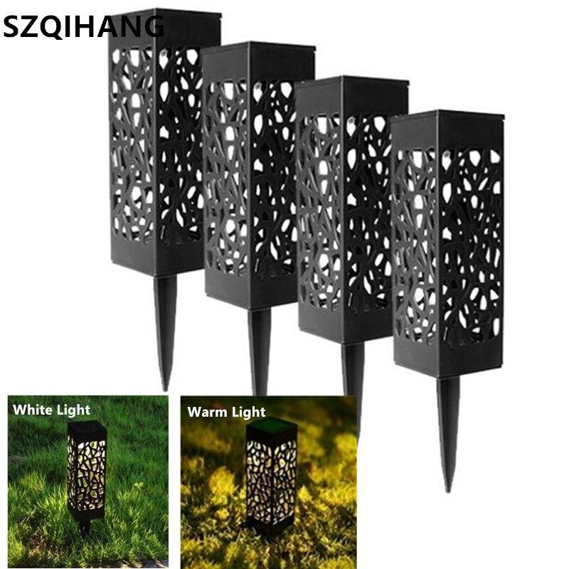 Waterproof Led Solar Light For Garden Decoration Lawn Lamp Outdoor Home Pathway Bulb Light Sensor Solar Street Lamp Solar Lights