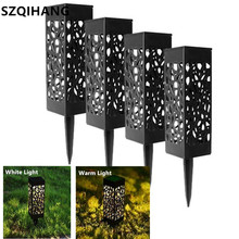 лучшая цена Waterproof Led Solar Light For Garden Decoration Lawn Lamp Outdoor Home Pathway Bulb Light Sensor Solar Street Lamp Solar Lights