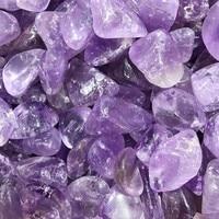1/2lb טבעי בתפזורת אמטיסט קוורץ קריסטל מכובס אבן ריפוי רייקי מלוטש