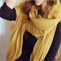Fashion Sexy Womens Girls 180*110cm Cotton Blend Scarves Solid Shawl Scraf Autumn Winter Outdoor  Riding Wrap Hijabs 12  Colors