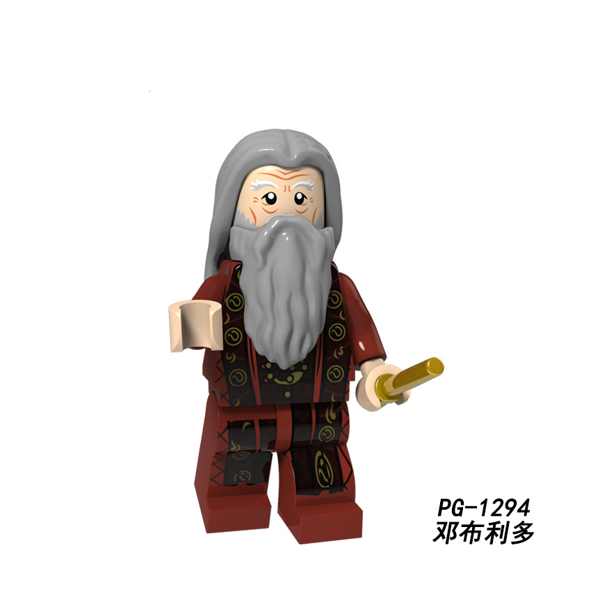 Legoings 71022 Harry Potter Figures Hermione Granger Lord Voldemort Ron Draco Malfoy Building Blocks Bricks Toys Christmas Gift #6