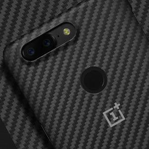 Image 4 - מקורי OnePlus OnePlus 5 T 5 T Karbon מגן מקרה להגן עליך באופן טבעי חומר בשימוש Kevlar Bulletproof שריון
