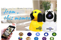 Hiseeu FH4 Home Security IP Camera Baby Monitor Wi Fi Wireless Smart Dog Wifi Camera Surveillance