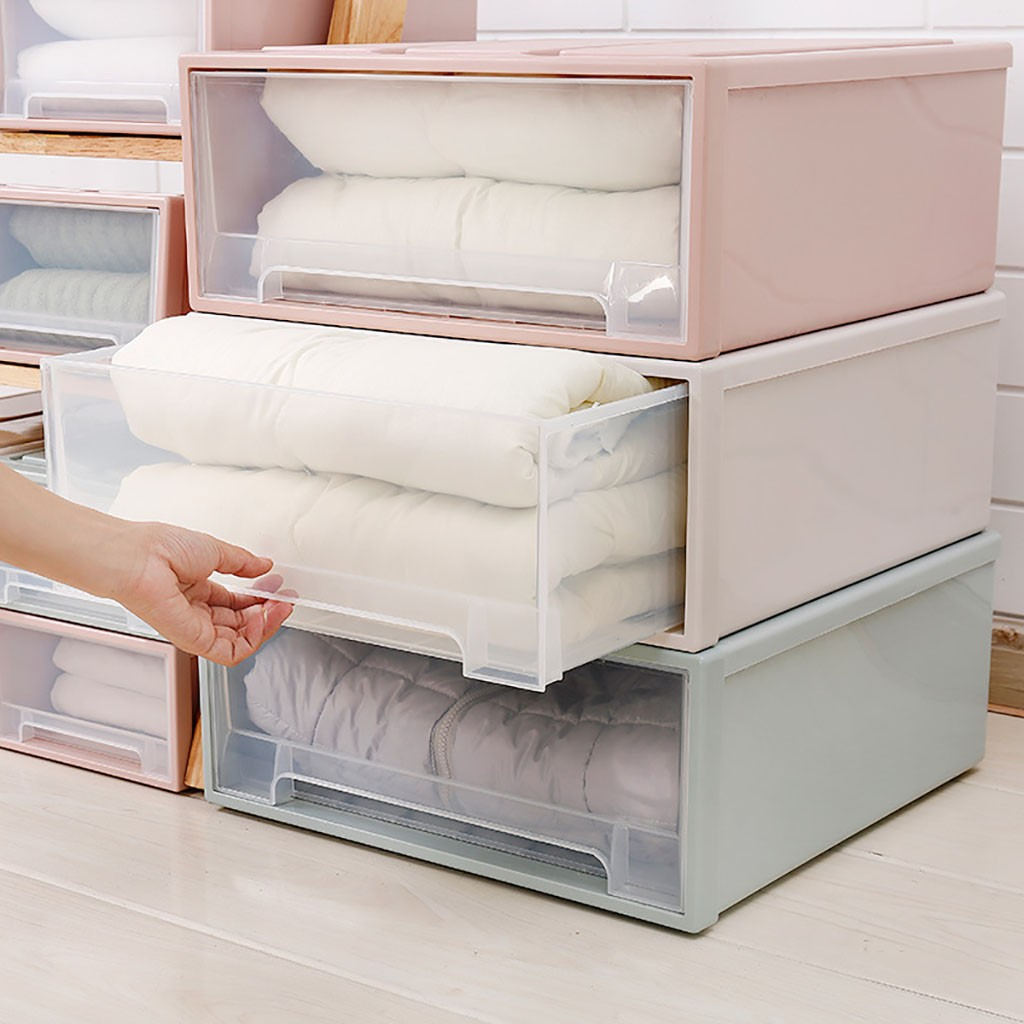 Storage Container Drawer Plastic Minimalist Stackable Housekeeping Clothes Quilt Organizers Bedroom Storage Tool Case Storage Boxes Bins Aliexpress
