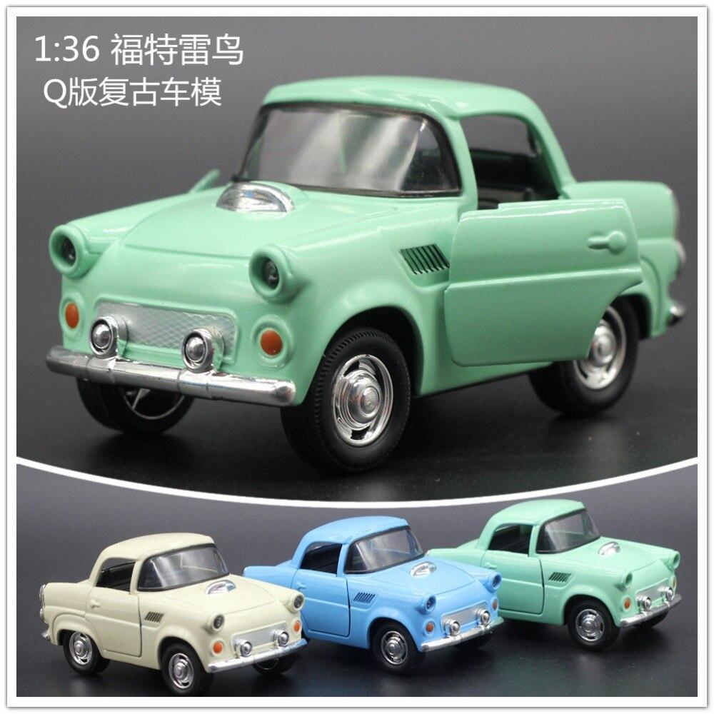 1955 Ford Thunderbird Vintage mini toy Car Vehicle Model 1:38 Scale ...