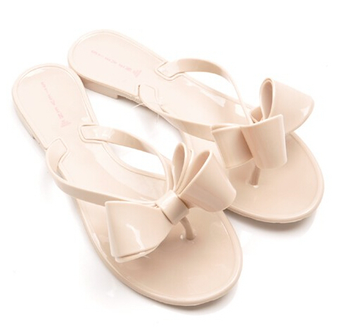 f26da3ac19e7 WOMENS LADIES TOE BOW DIAMANTE JELLY SUMMER FLAT FLIP FLOP THONG SERENE  COMFORT SANDALS SIZE