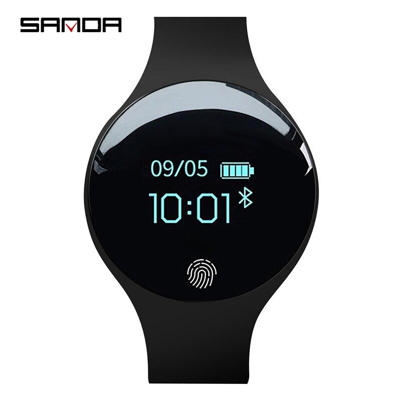 SANDA Smart Uhr für IOS Android Männer Frauen Sport Wasserdicht Fitness uhren schrittzähler Kalorien Erinnerung intelligente Armband
