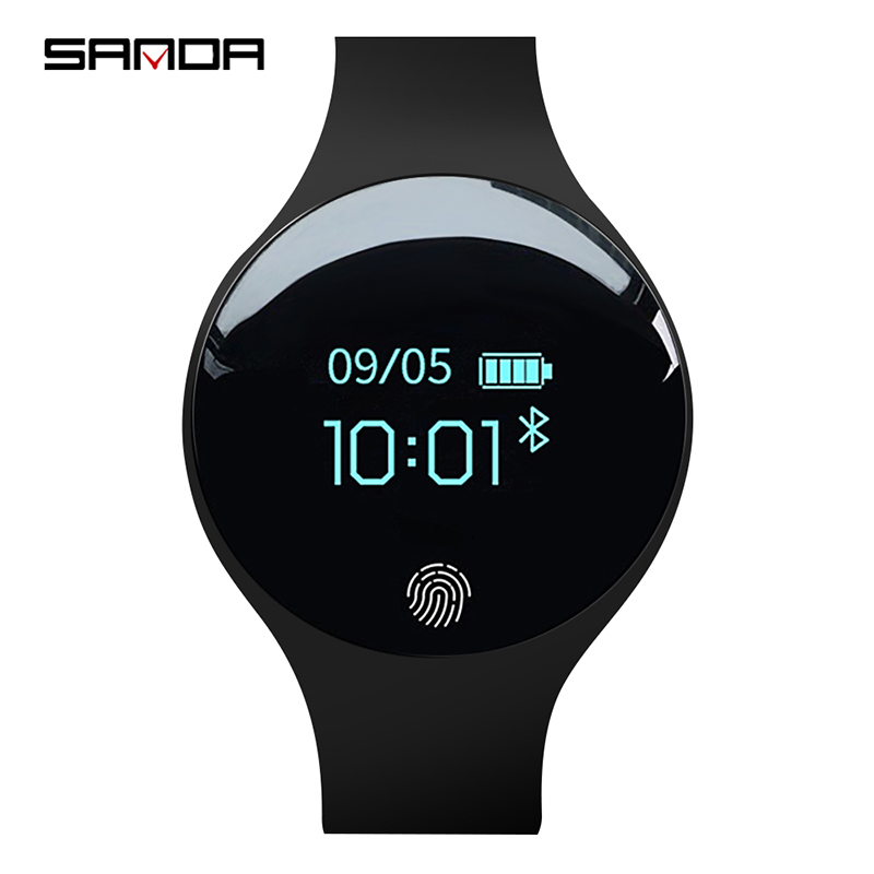 SANDA font b Smart b font Watch for IOS Android Men Women Sport Waterproof Fitness watches
