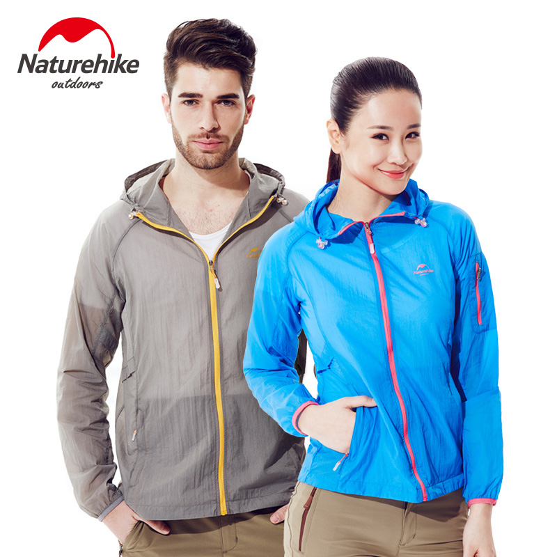 Naturehike Hiking Shirts men outdoor Anti-UV clothing camping hike T shirts Ultra-thin breathable wind clothes tops