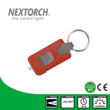 NEXTORCH ANSI NEMA Shockproof 18 Lumens Rechargeable EDC Led Keychain Torch Flashlight#GL10 Red