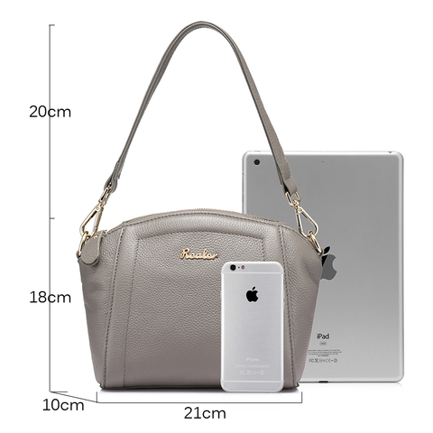 REALER messenger bags for women small handbag genuine leather shoulder crossbody bags female high quality evening top-handle bag Islamabad