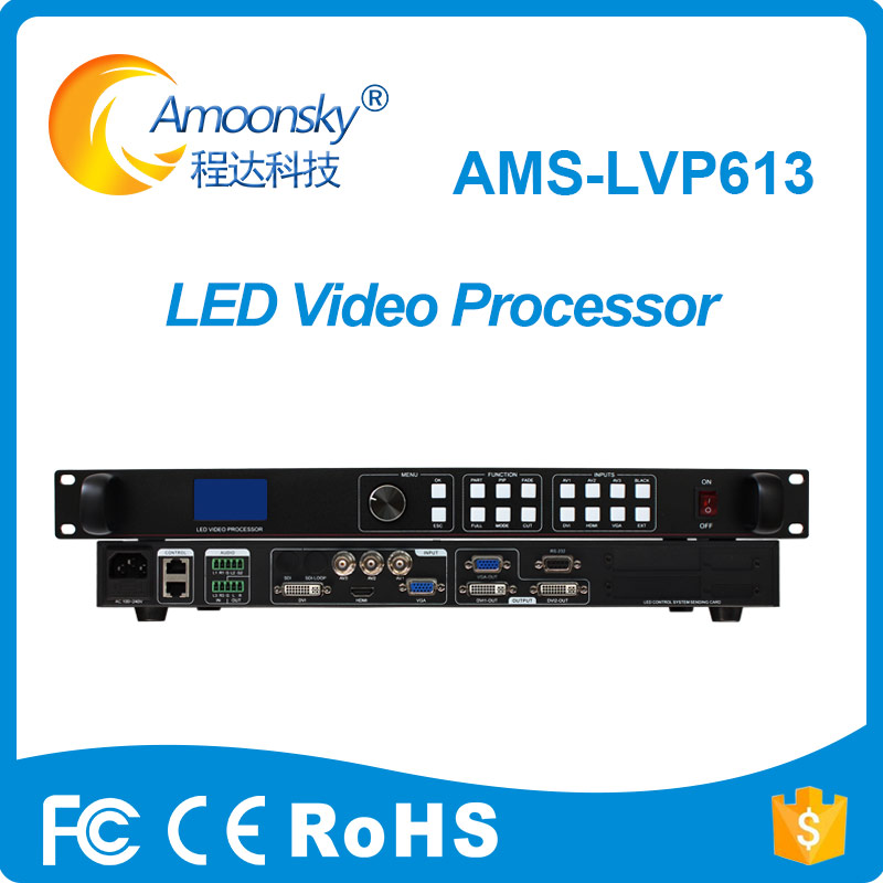 Rgb Led Video Display HD LVP613 LED Video Processor For Led Sign Board For P2.5 P3 Outdoor P5 Led Screen Display