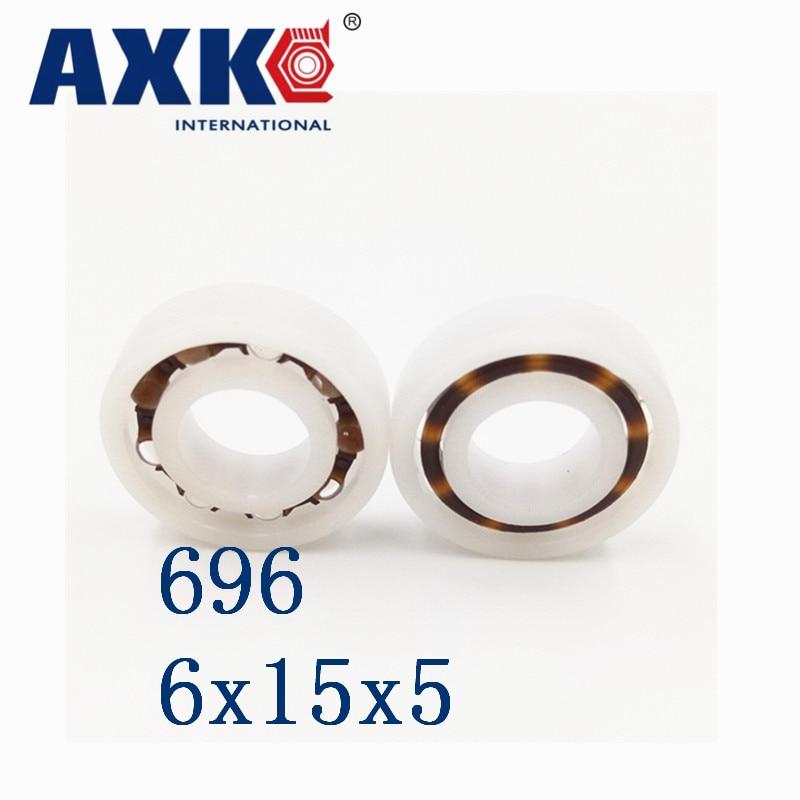 10 pcs 686 6*13*5 Plastic Nylon POM Ball Bearings 6x13x5 mm