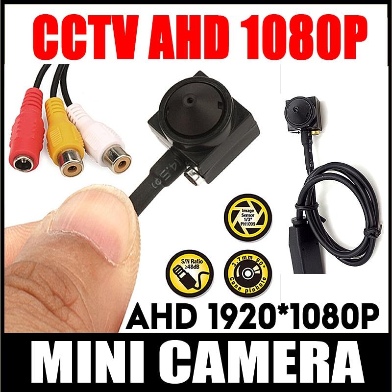 Home Security HD Supe pequeno 720P 2.0M 1080P AHD Kit CCTV Cor mini Sistema de Câmera de Vigilância Menor câmera Com Lente de 3.7mm