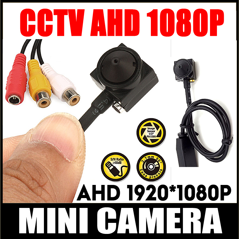 Home Security HD Supe small 720P 2.0M 1080P Kit CCTV Color AHD mini Camera System Smallest Surveillance Camera With 3.7mm Lens security camera smallest hd cctv mini camera 800tvl cmos small 6 5mm 6 5mm 12 12 super small camera for home security have cable