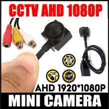 Главная Безопасность HD супе Малый 720 P 2,0 М 1080 P комплект видеонаблюдения Цвет AHD мини Камера Системы маленький Камеры Скрытого видеонаблюдения с 3,7 мм объектив