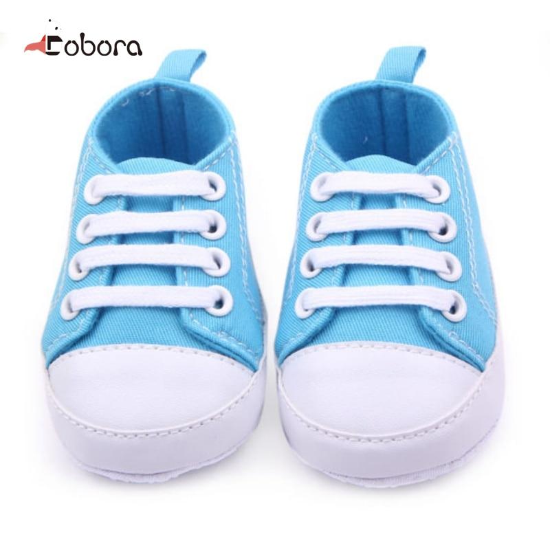 Baby Boy Girl First Walkers Cute Hot Noir New Soft Infant Newborn Baby Boy Girl Kid Soft Sole Shoes Sneaker Newborn 0-12Months