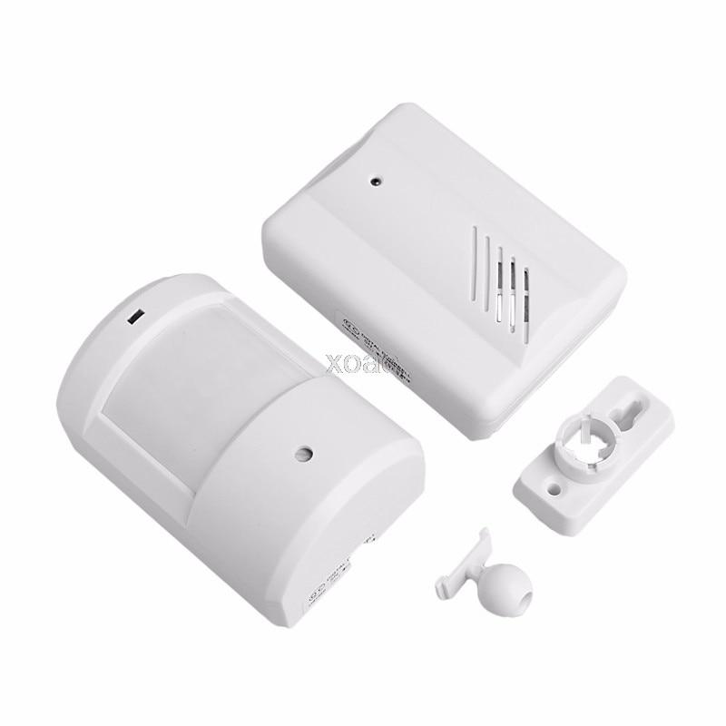New Wireless Sensor Detector Door Gate Entry Bell Chime Doorbell Alarm Alert Motion M06 dropship ks v2 welcom chime bell sensor