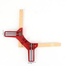 4 шт. 75 мм Mitre углу зажимы фоторамка держатель деревянных Угловые красный
