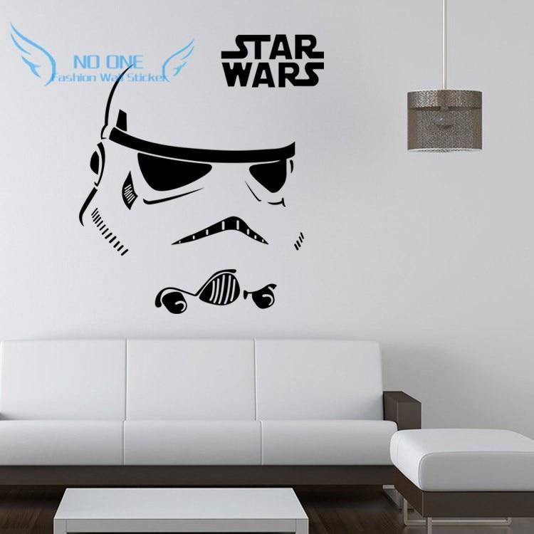 Darth Vader Star Wars Stormtrooper Star Wars tatueringar vinyl - Heminredning