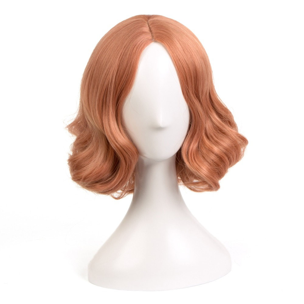 Hot Anime Game Persona 5 Haru Okumura Cosplay Wig Halloween Play Short Curly Wig Party Stage High Quality Hair+Wig Cap