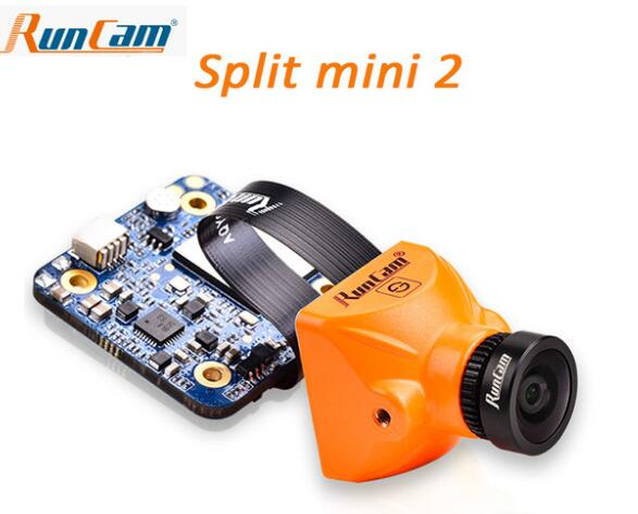 RunCam Split mini 2 /Split 2 FPV WiFi Camera 2 MP1080P/60fps HD recording plus WDR NTSC/PAL Switchable for Racing Drone runcam 2 hd 1080p 120 degree wide angle wifi fpv camera ir blocked ntsc pal switchable for fpv racing drone