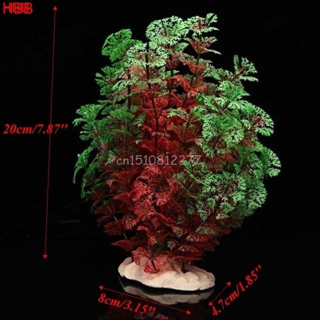 Plastic Artificial Plant Water Grass Aquarium Fish Tank Ornament Decoration New #H0VH#